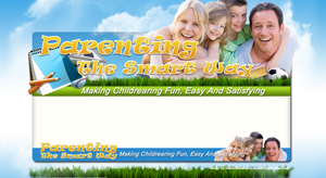 Thumbnail Parenting PSD Minisite HTML Graphics Ready Made Web Template