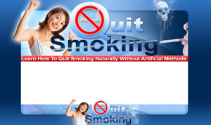 Thumbnail Quit Smoking 1 PSD Minisite HTML Graphics Ready Made Web Template
