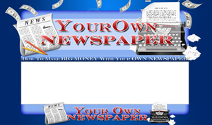 Your Own Newspaper PSD Minisite HTML Graphics Ready Made Web Template