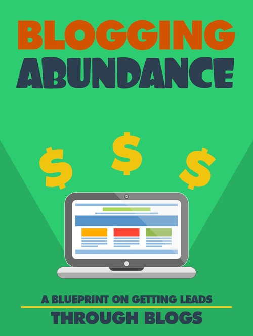 Product picture Blogging Abundance