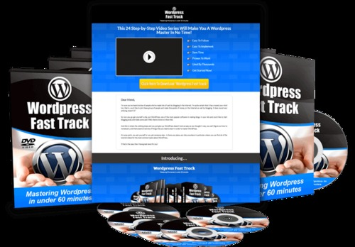 Product picture Wordpress Fast Track Tutorials with PLR