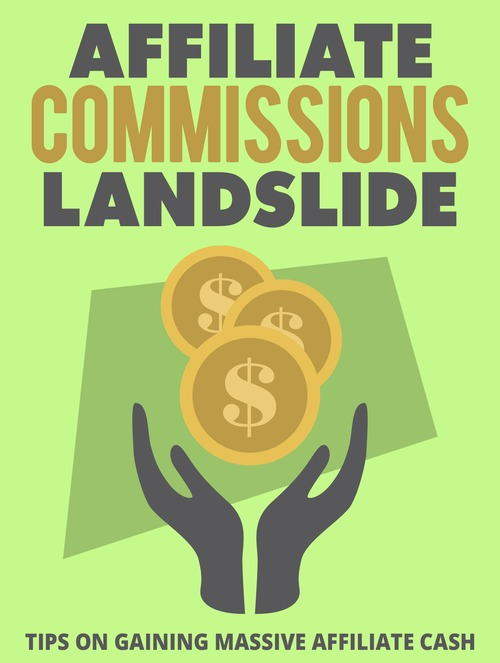 Product picture Affiliate Commissions Landslide