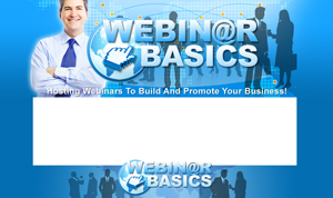 Product picture Webinar Basics PSD Minisite HTML Graphics Ready Made Web Template