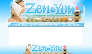 Product picture Zen And You PSD Minisite HTML Graphics Ready Made Web Template